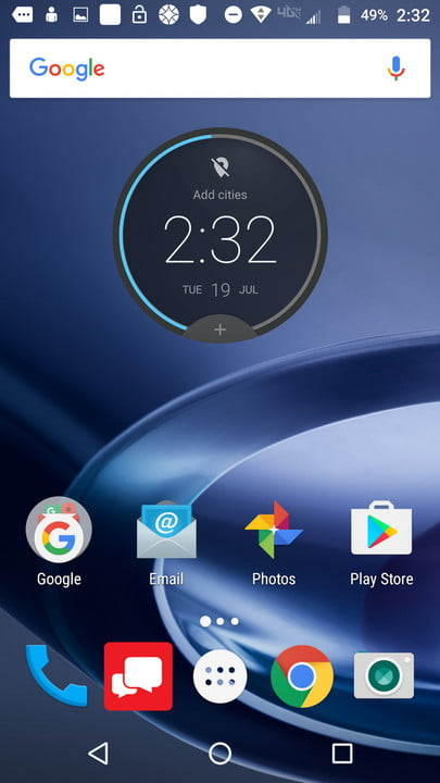 lenovo moto z review and force screenshot