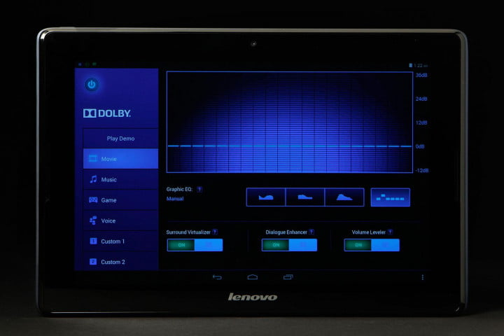 lenovo a  review tablet front full