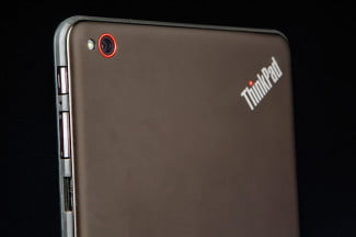 Lenovo ThinkPad 8 review tablet top macro 2
