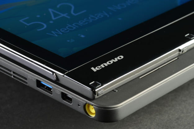 Lenovo ThinkPad Edge Twist review power button