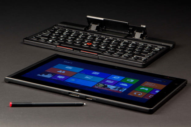 Lenovo ThinkPad Tablet 2 Review keyboard stylus