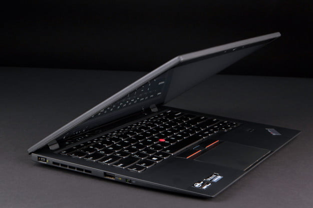 Lenovo ThinkPad X1 Carbon Touch review lid angle