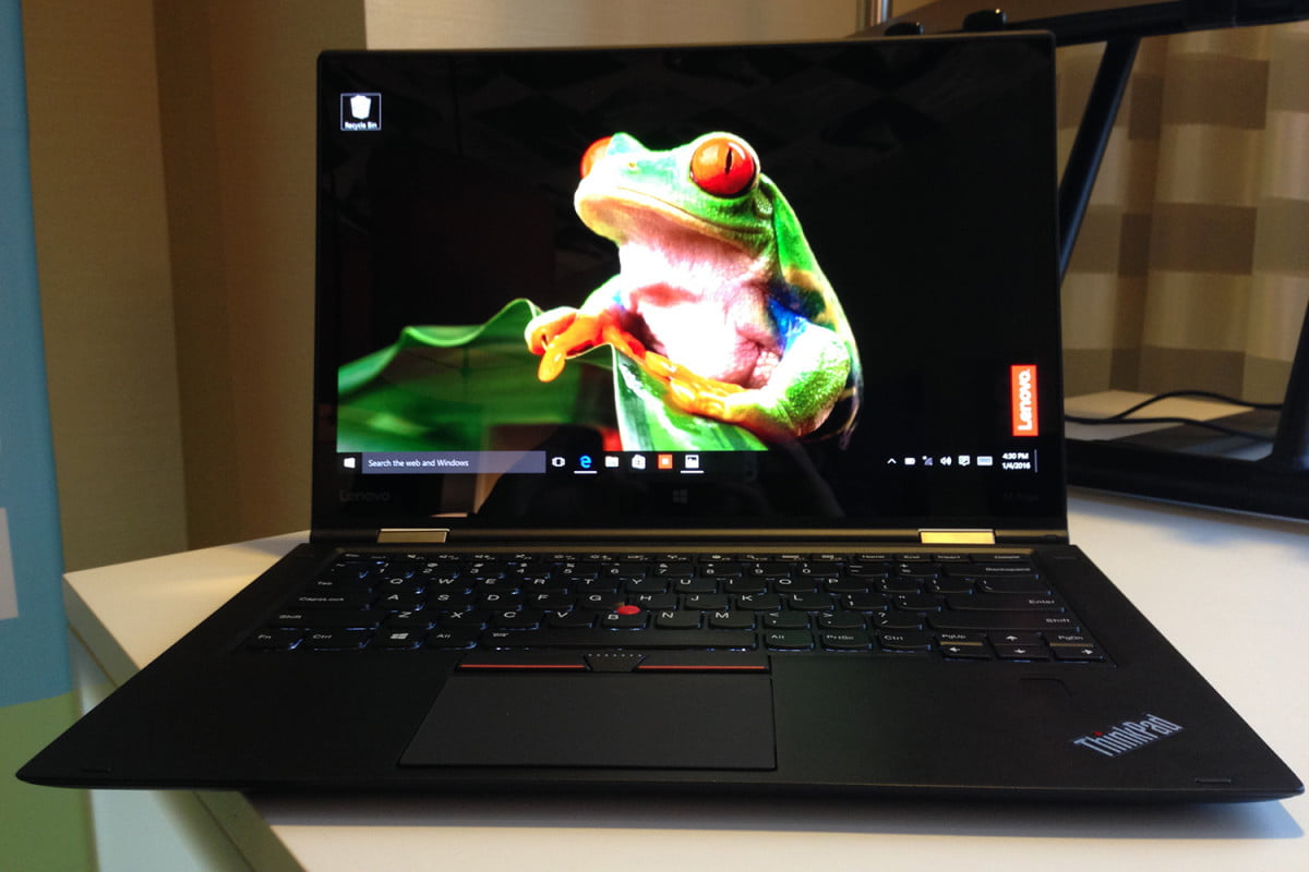 oled comes to laptops lenovo thinkpad x  yoga