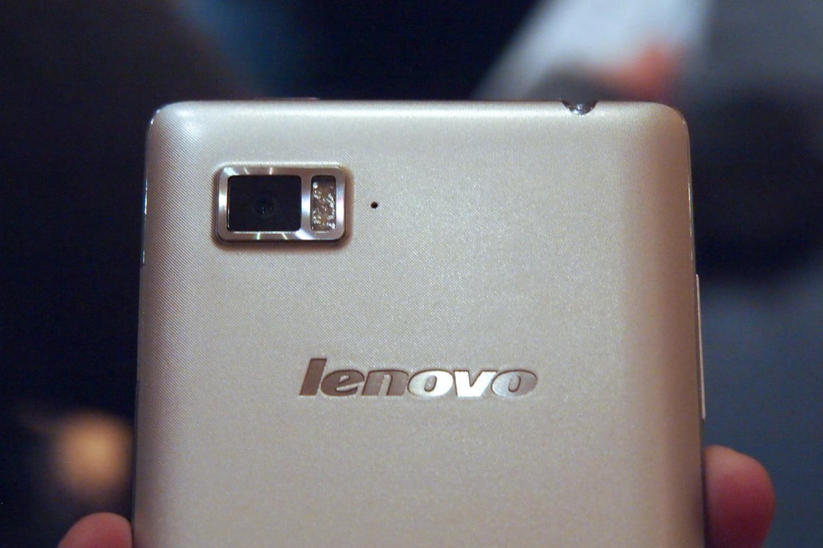 lenovo lg smartphone growth  vibe z hands on ces rear top