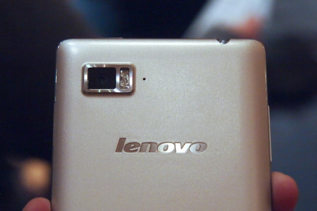 lenovo may use motorola by branding in the future vibe z hands on ces  rear top