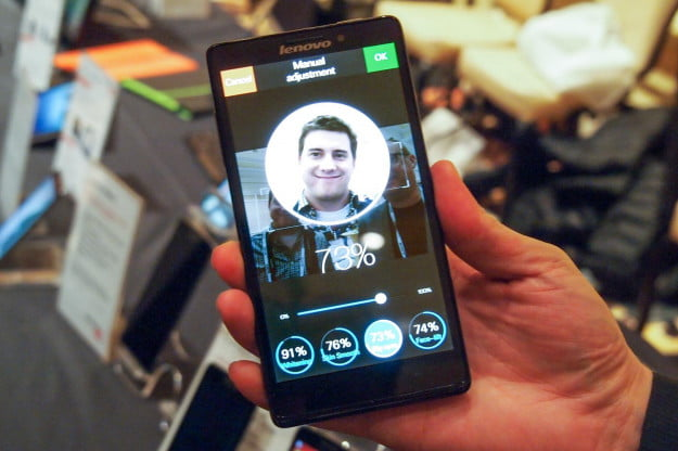 Lenovo Vibe Z hands on ces 2014 screen 2