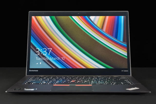 Lenovo X1 Carbon review screen