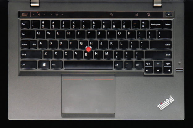 LeNovo X1 Carbon top keyboard