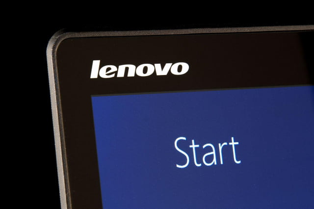 Lenovo Yoga 3 top logo