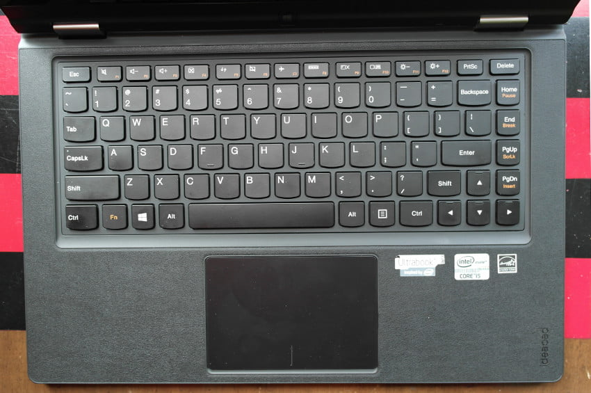 Lenovo Yoga review keyboard tablet laptop hybrid windows 8