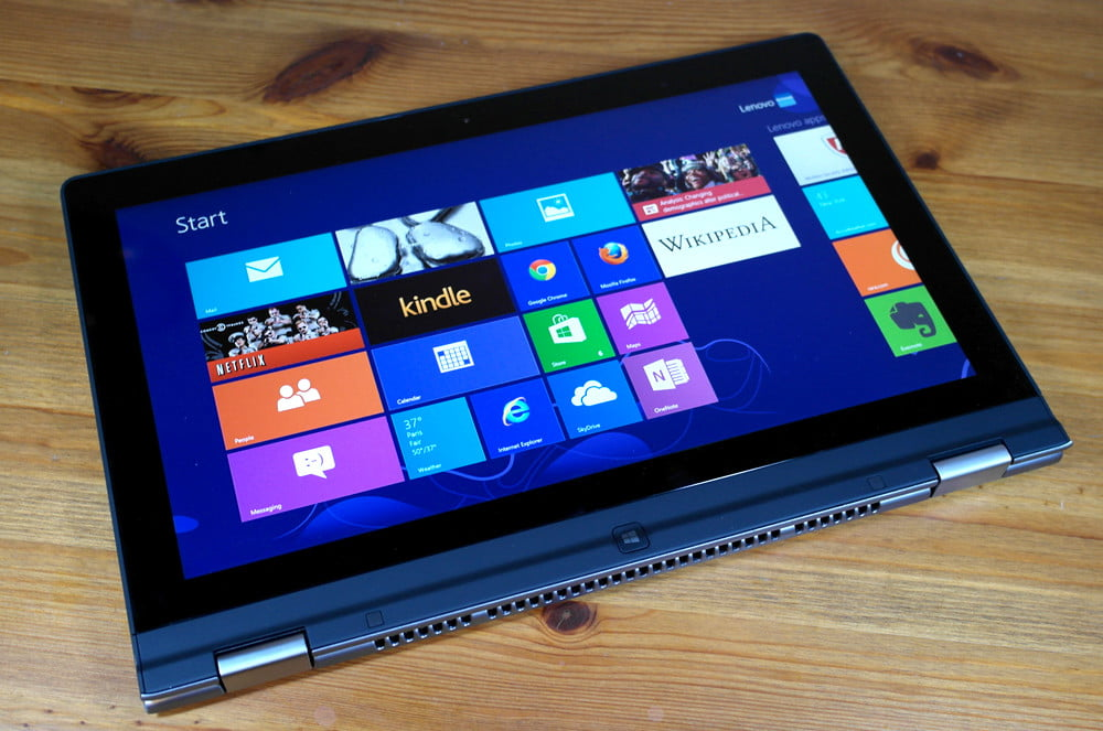 Lenovo Yoga review tablet mode hybrid tablet laptop