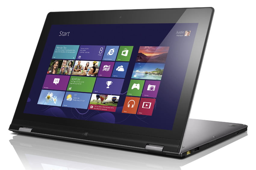 Lenovo Yoga review windows 8 laptop tablet hybrid