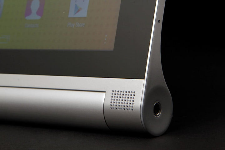 lenovo yoga tablet  review front corner stand