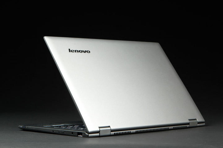 lenovo yoga  pro review back left angle
