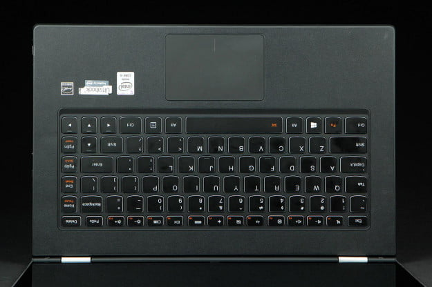 LeNovo Yoga2 keyboard full