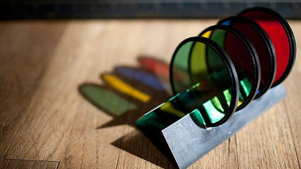 Lens-Filter-Coasters