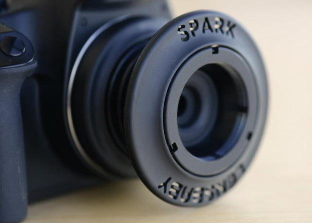 lensbaby spark on camera