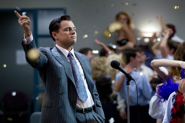 leonardo dicaprio wolf of wall street embezzlement the