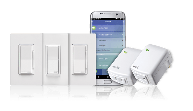 decora smart switch leviton with wi fi technology  products and app