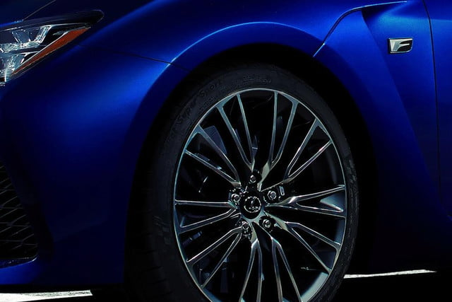 lexus looks take m  new f model debuting detroit teaser