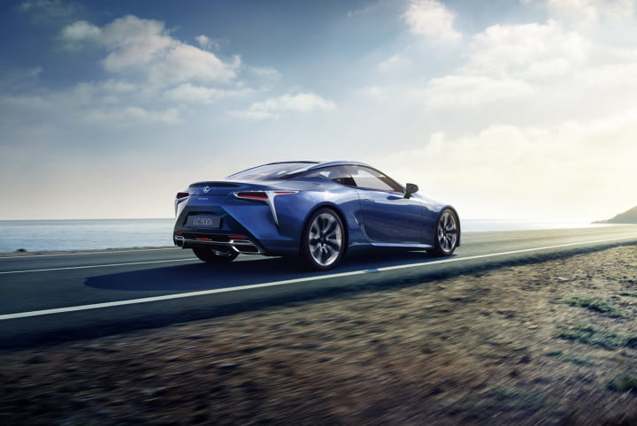 lexus lc h news specs performance pics