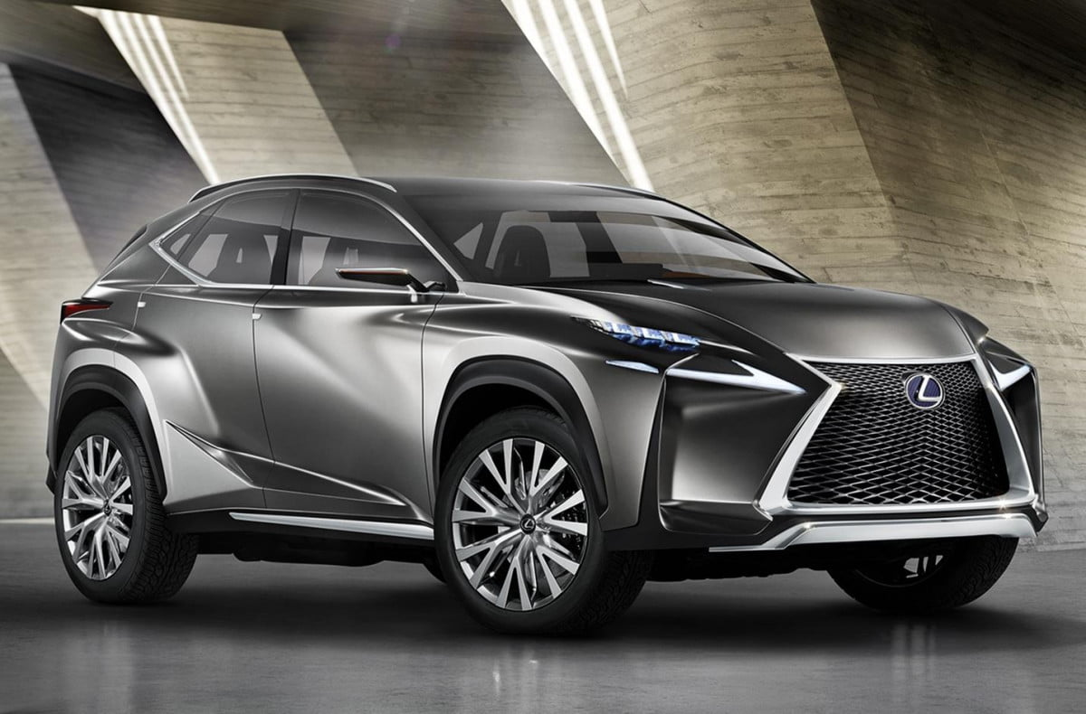 lexus lf nx concept could be a convincing compact mercedes gla fighter