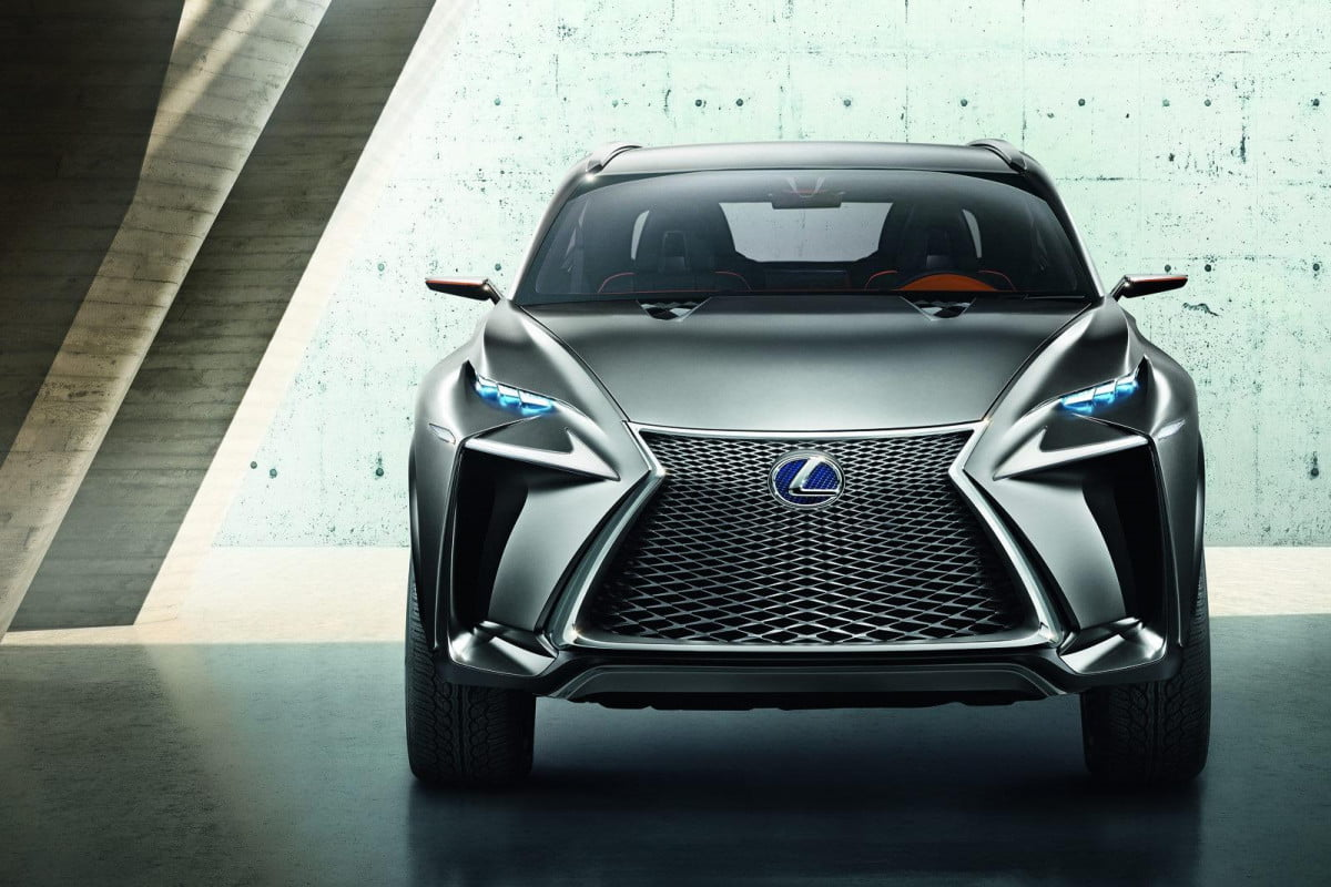 frankfurt  motor show lexus lf nx concept gives brand an additional spark