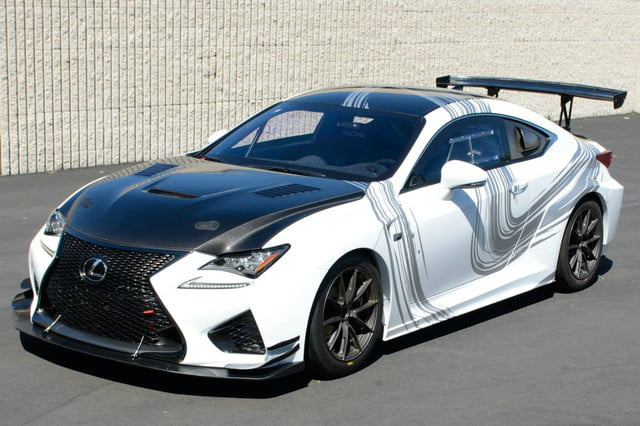lexus rc f gt concept coming to long beach