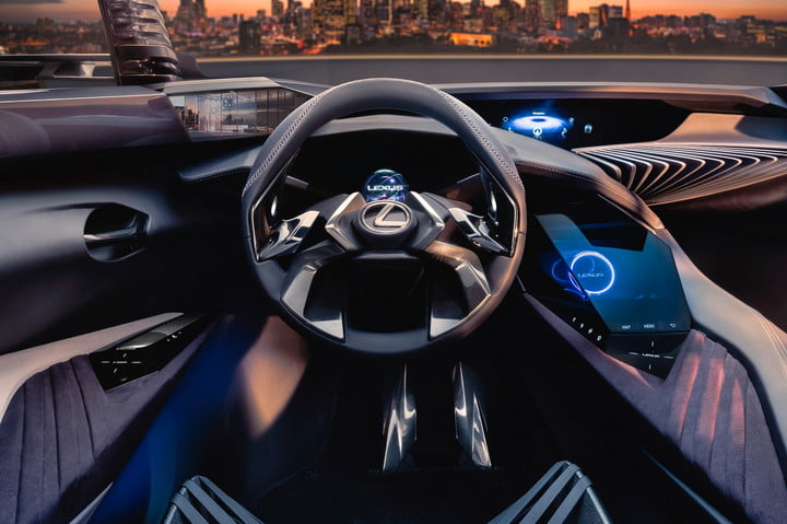 lexus ux concept news pictures rumors digital trends. Black Bedroom Furniture Sets. Home Design Ideas