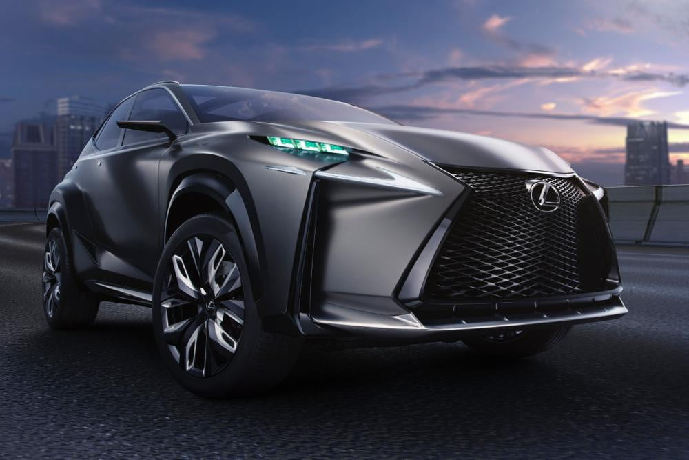 lexus nx compact crossover to debut at geneva motor show lf turbo concept