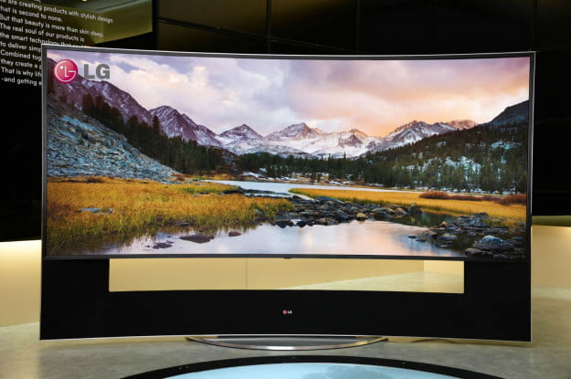 LG 105 curved Ultra HD