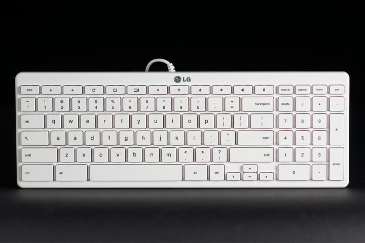 lg  cv chromebase review keyboard