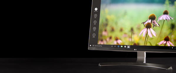 Where's the rest of it? LG makes a4K monitor sosleek, it'sbarely there
