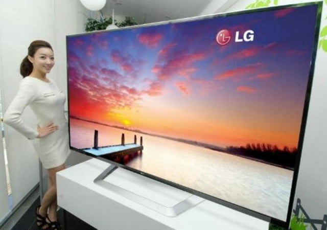 lg  k resolution lcd tv ces