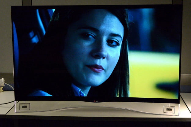 lg 55ea9800 curved oled front