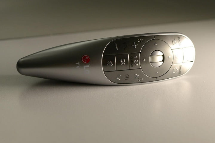 lg  ea review curved oled remote
