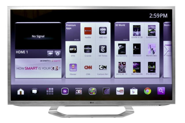 lg  g review google tv led d front screen