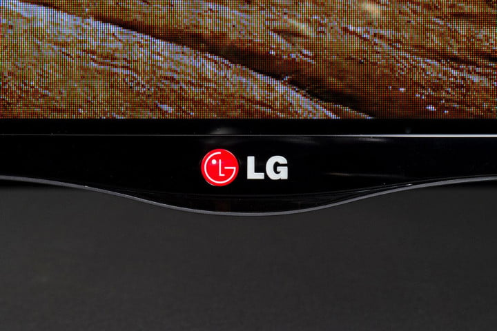 lg  la review led tv base logo