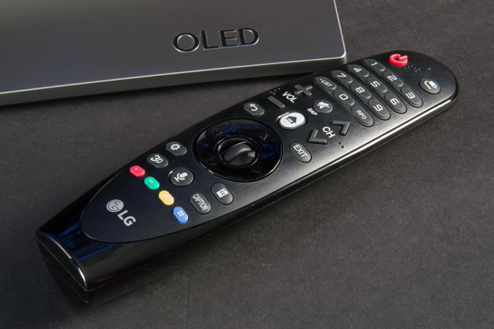 lg  eg review oled tv remote