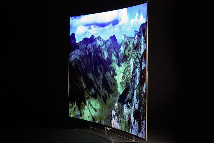 lg  eg review oled tv side