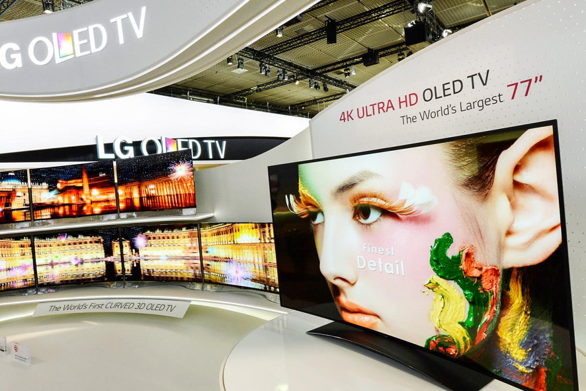 lg unveils a eyeful of tv awesome with  inch curved ultra hd oled television s k