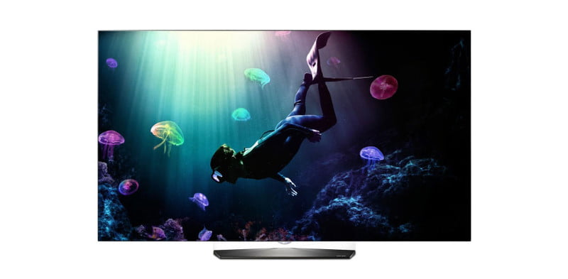 lg oled  b p review product
