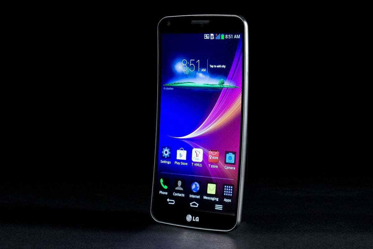 lg g flex helpful tips and tricks front angle  x