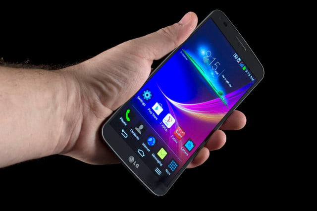 lg g flex suffers from bumpy screen defect in hand
