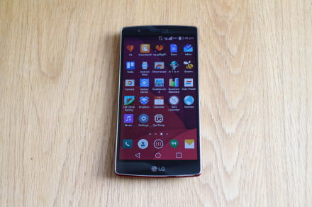 LG G Flex2 home screen