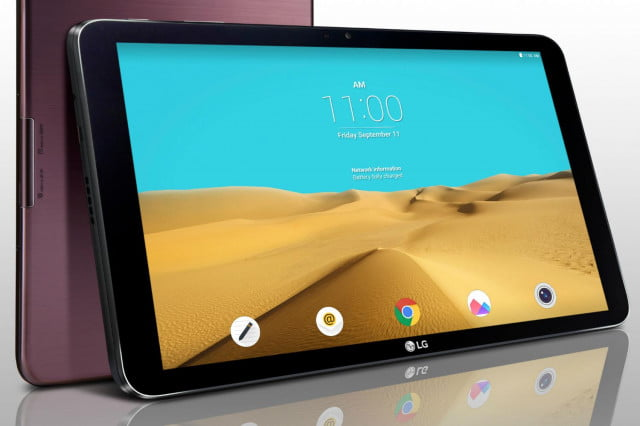 save  office friendly lg g pad ii front