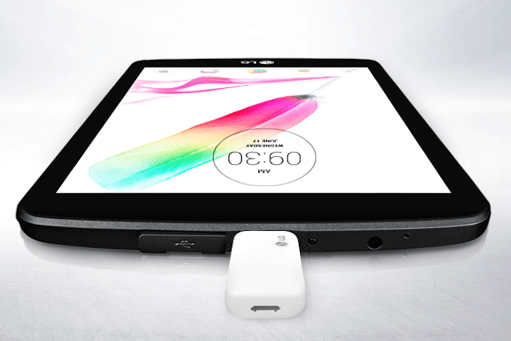The LG G Pad 2 8.0 Has A Stylus, And Full Size USB ...