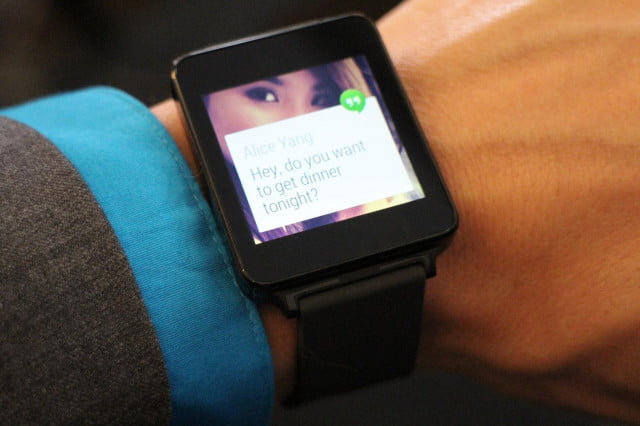 get ready look like james bond setting lg g watch hands on front