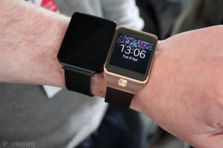 LG G Watch Prototype Gear 2