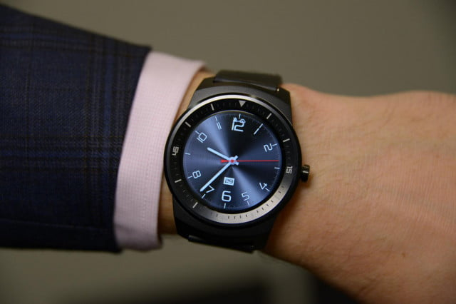 lg g watch r release news hands on video